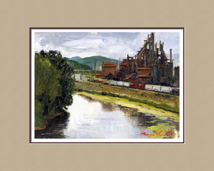 Bethlehem Steel from Fahy Bridge
