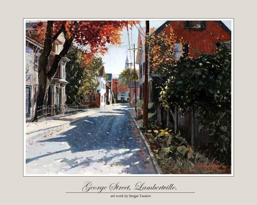 George Street, Lambertville