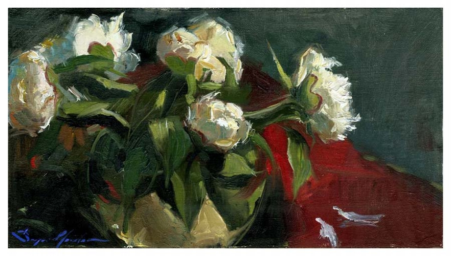 Peonies in the Vase