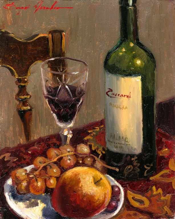 Red Wine and Apple