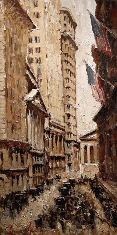 Wall Street, Stock Exchange