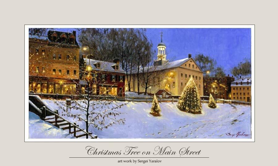 Christmas Tree on Main Street