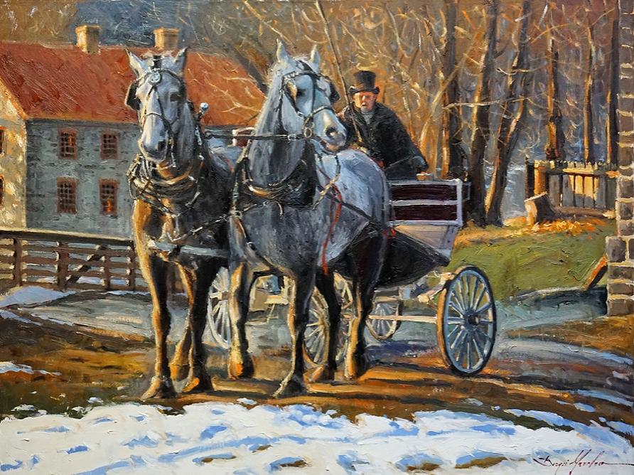 Horses in Bethlehem
