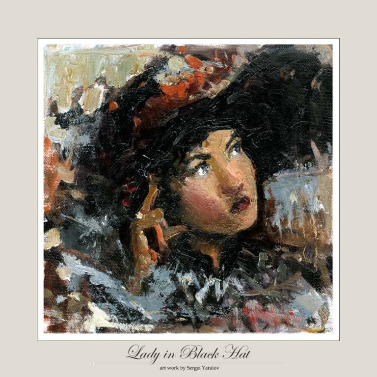 Lady in Black Hat