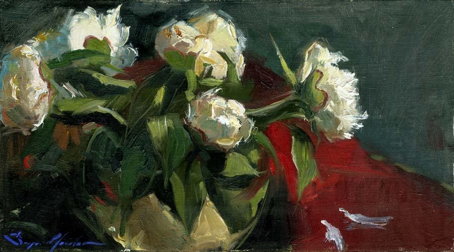 Peonies in the Vase
